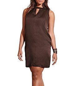 Lauren Ralph Lauren® Plus Size Charmeuse Shift Dress