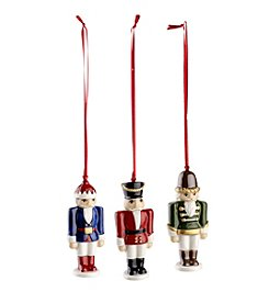 Villeroy & Boch® Set of 3 Nutcracker Ornaments