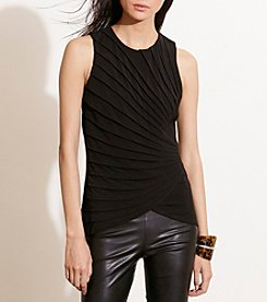 Lauren Ralph Lauren® Pressed-Pleat Jersey Tank