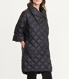 Lauren Ralph Lauren® Quilted Mock Neck Down Jacket
