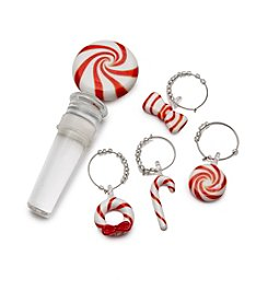 Mikasa® 5-pc. Candy Stopper And Stem Glass Charms