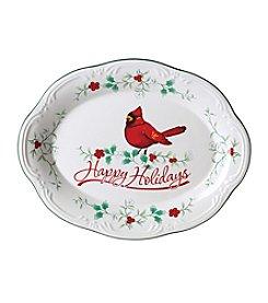 Pfaltzgraff® Winterberry Cardinal Platter