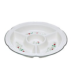 Pfaltzgraff® Winterberry 4-Section Serving Bowl