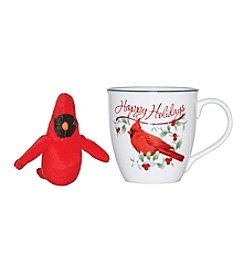 Pfaltzgraff® Winterberry Cardinal Mug With Plush