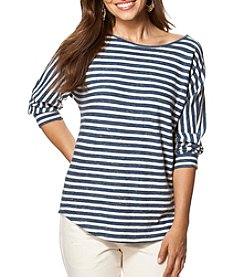 Chaps® Striped Jersey Top