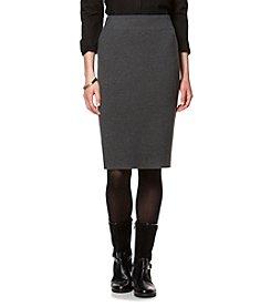 Chaps® Cotton-Blend Pencil Skirt