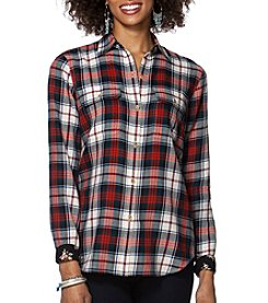 Chaps® Plaid Twill Workshirt