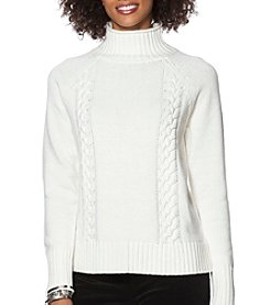 Chaps® Cable Long Sleeve Sweater