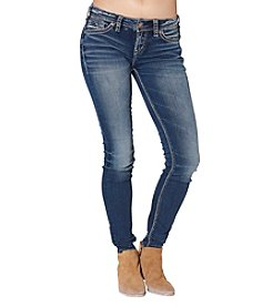 Silver Jeans Co. Aiko Mid Super Skinny Jeans