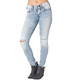 Silver Jeans Co. Suki Mid Skinny Jeans