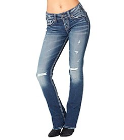 Silver Jeans Co. Suki Mid Slim Boot Jeans