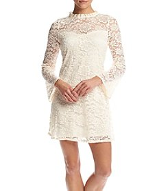 A. Byer Lace Swing Dress
