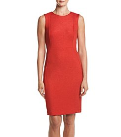Calvin Klein Glitter Ponte Sheath Dress