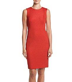 Calvin Klein Glitter Ponte Sheath Dress