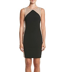 Xscape Beaded Side Dress