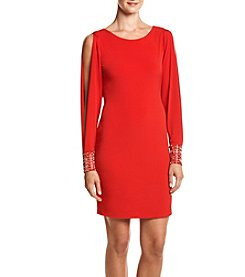 Calvin Klein Bead Cuff Shift Dress