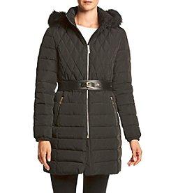 Ivanka Trump® Oversize Faux Fur Hood Coat