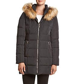 Ivanka Trump® Oversize Faux Fur Hood Down Coat