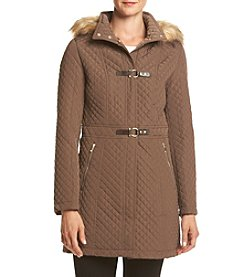 Ivanka Trump® Toggle Quilt Coat
