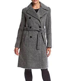 Ivanka Trump® Notch Collar Wrap Coat