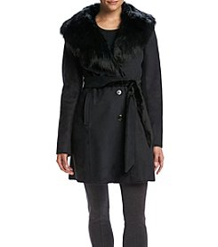 Ivanka Trump® Faux Shearling Coat