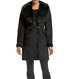 Ivanka Trump® Faux Shearling Toggle Coat