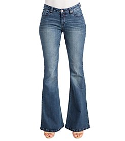 Poetic Justice® Jennifer Curvy Flare Jeans