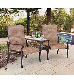 Sunjoy Cantina Tete-A-Tete Chair Set