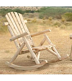 Sunjoy Church Wood Rocker