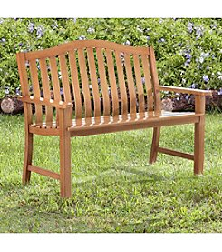 Sunjoy Natural Smith Bench