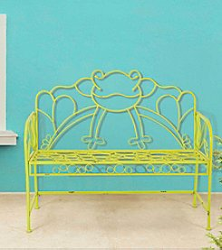 Sunjoy Green Frog Bench