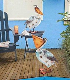 Sunjoy Whimsical Pelican Garden Sculpture