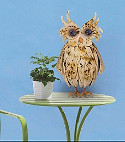 Sunjoy Friendly Owl Garden Statue