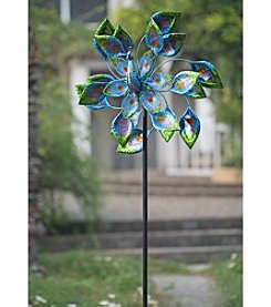 Sunjoy Peacock Kinetic Wind Catcher
