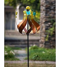 Sunjoy Bronze Kinetic Solar Wind Catcher