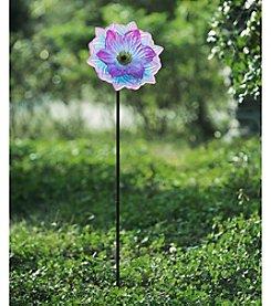 Sunjoy Glass Flower Garden Stake