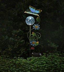 Sunjoy Butterfly Solar LED Garden Stake
