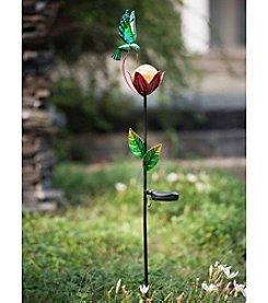 Sunjoy Hummingbird Solar LED Garden Stake