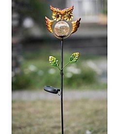 Sunjoy Owl Solar LED Garden Stake