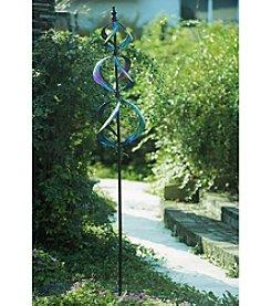 Sunjoy Purple Metal Kinetic Spinner