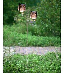 Sunjoy Owl Pair Garden Stake