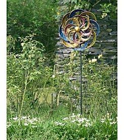 Sunjoy Kinetic Wind Catcher Garden Stake