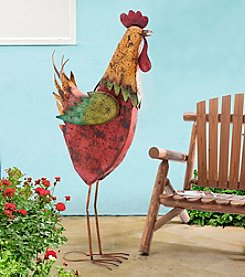 Sunjoy Giant Rooster Garden Statue