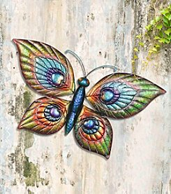 Sunjoy Butterfly & Dragonfly Outdoor Wall Decor