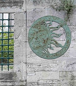 Sunjoy Verdigris Sun Wall Decor
