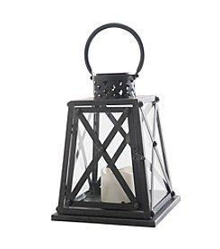 Sunjoy Metal Solar LED Lantern