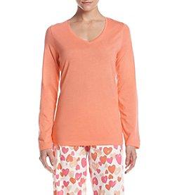 HUE® Solid Pajama Shirt