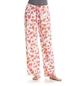 HUE® Simple Heart Pajama Pants
