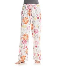 HUE® Floral Play Pajama Pant