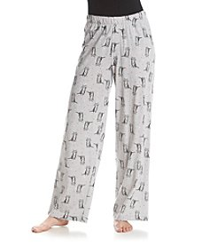HUE® Pretty Kitty Pajama Pants